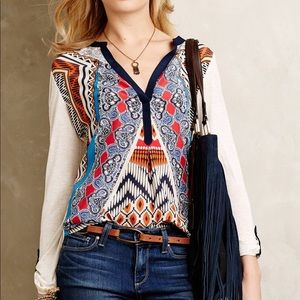 Tiny from Anthropologie top